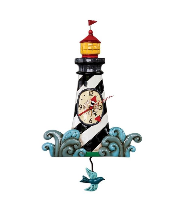 Allen Designs Allen Design Clock- Augies Lighthouse