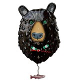 Allen Designs Allen Design- Burly Bear Clock