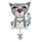 Allen Designs Allen Design- Mouser Cat clock