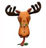 Allen Designs Allen Design- Moose Clock
