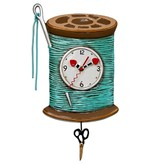 Allen Designs Allen Design- Needle and Thread Clock