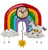 Allen Designs Allen Designs- Unicorns & Rainbows Clock