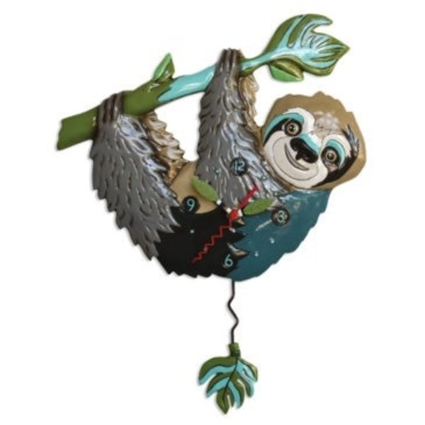 Slow Poke Sloth Clock