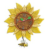 Allen Designs Allen Design- Sunflower Bee Clock