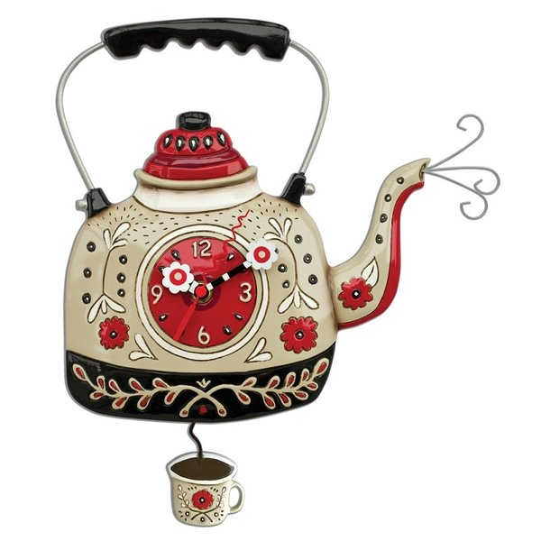 Tea Kettle Clock