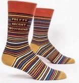 Blue Q Pretty Decent Boyfriend Men's Socks