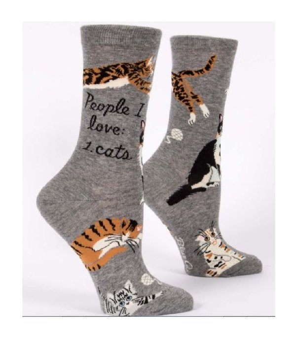 Blue Q People I Love Cats Women's Socks