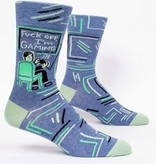 Blue Q F*ck Off I'm Gaming  Men's Socks