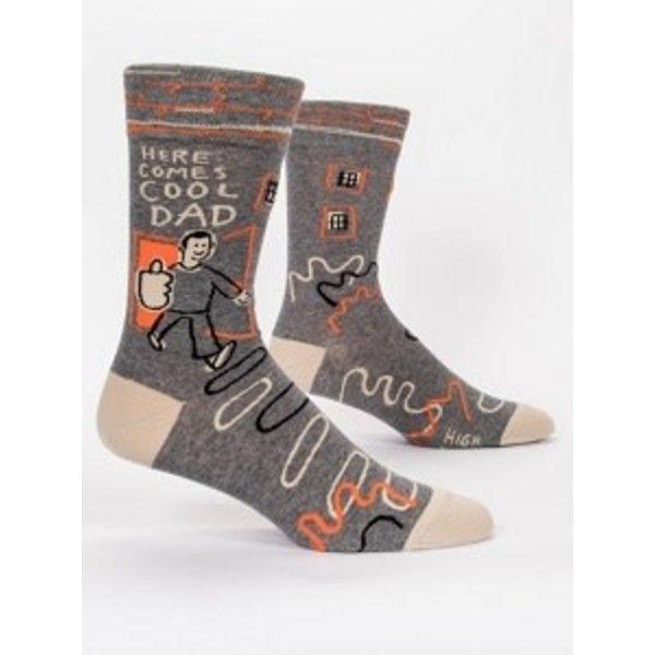 Here Comes Cool Dad Men's Socks