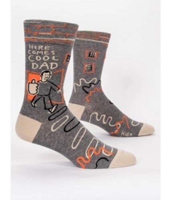 Blue Q Here Comes Cool Dad Men's Socks