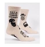 Blue Q Whiskers Men's Socks