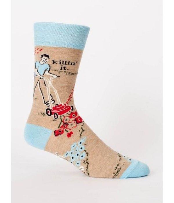 Blue Q Killing It Men's Socks
