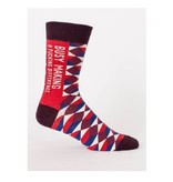 Blue Q Making a F*cking Difference Men's Socks