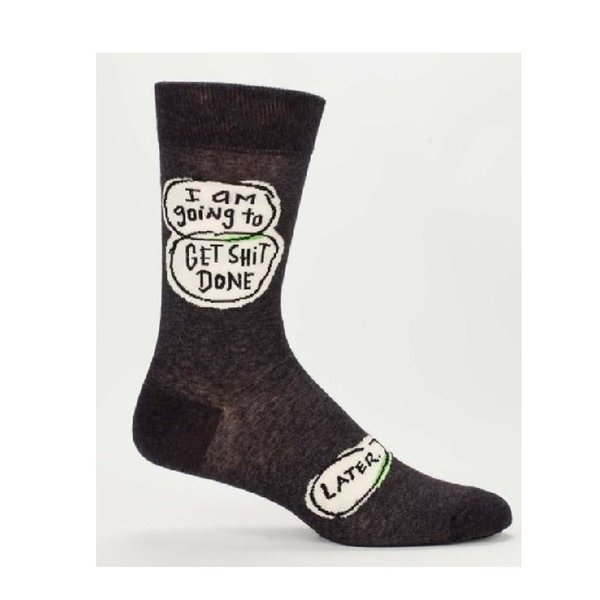 Get Shit Done Men's Socks