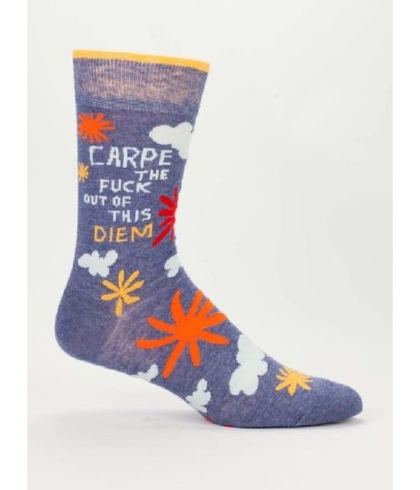 Blue Q Carpe Diem Men's Socks