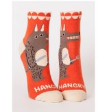 Blue Q Hangry Women's Ankle Socks