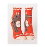 Blue Q Hangry Women's Ankle Socks