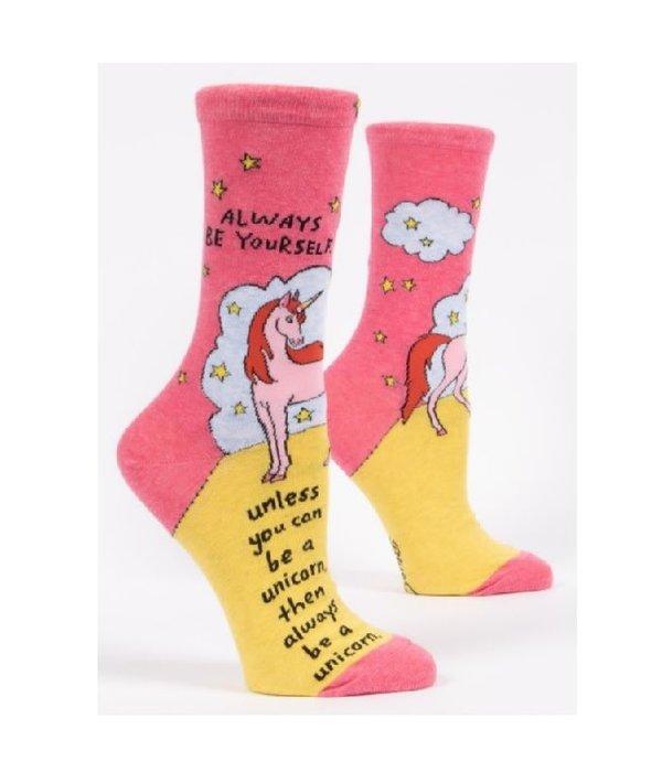 Blue Q Blue Q Always Be A Unicorn Women's Socks