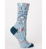 Blue Q F*ck Off I'm Reading Women's Socks
