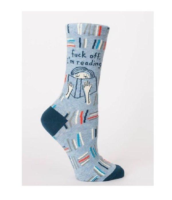Blue Q F*ck Off I'm Reading Women's Socks