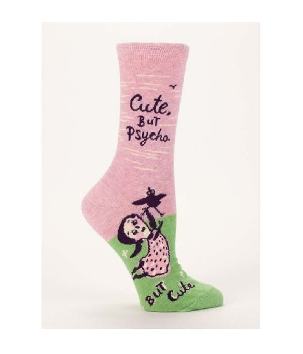 Blue Q Cute But Psycho Women's Socks