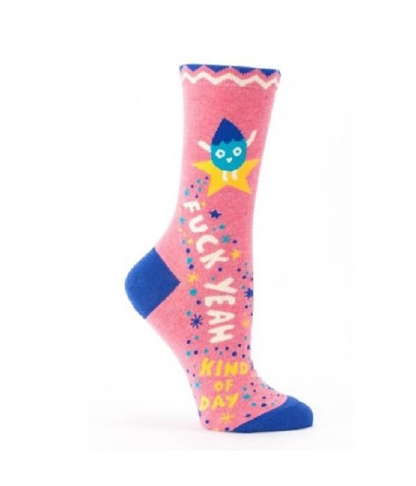 Blue Q F*ck Yeah Kind of Day Women's Socks