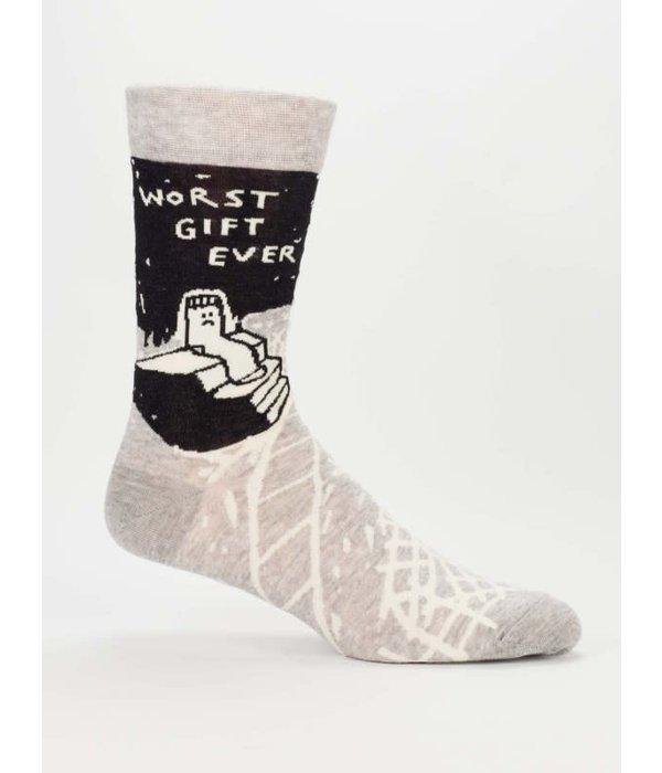 Blue Q Worst Gift Ever Men's Socks