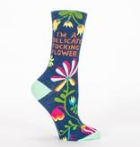 Blue Q Delicate F*cking Flower Women's Socks