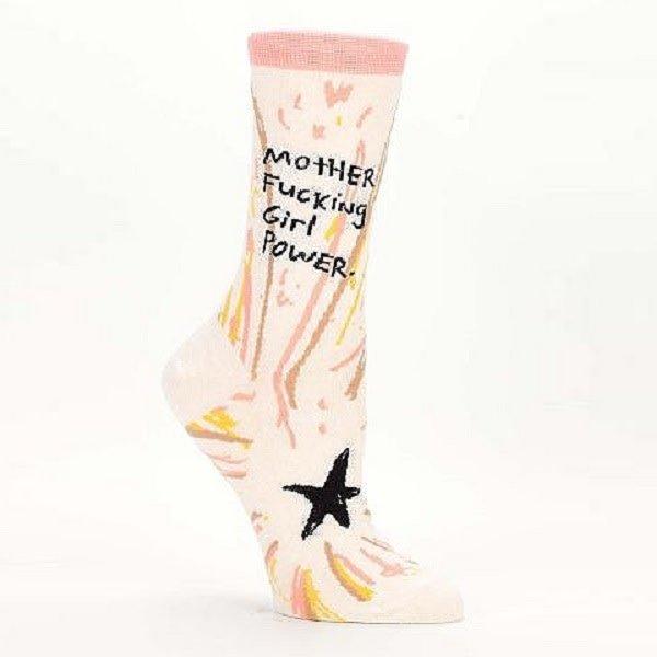 Mother F*cking Girl Power Women's Socks
