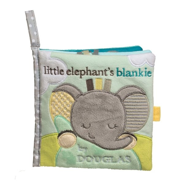 Gray Elephant Soft Activity Book