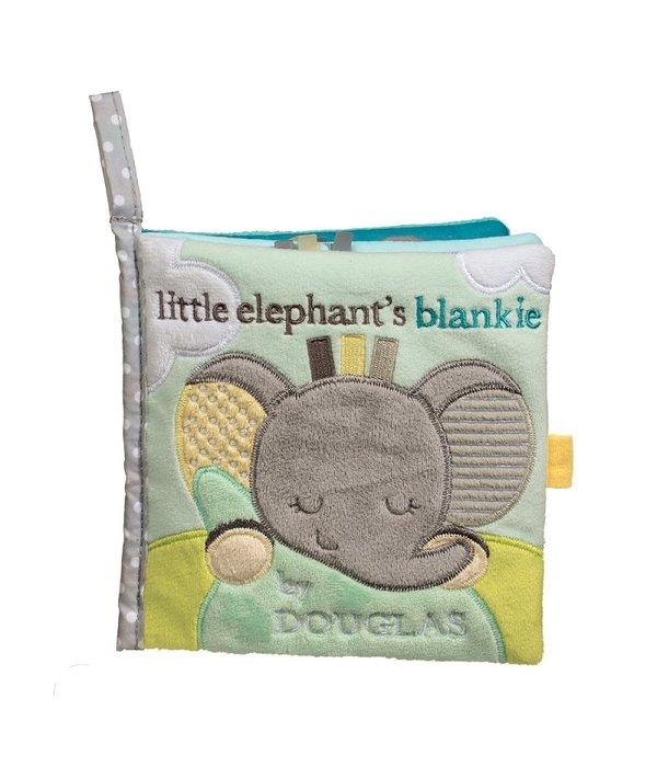 Douglas Toys Gray Elephant Soft Activity Book
