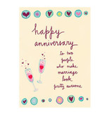 Papyrus Papyrus Anniversary Card Awesome Marriage