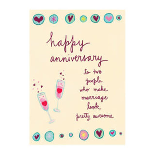 Papyrus Anniversary Card-Awesome Marriage