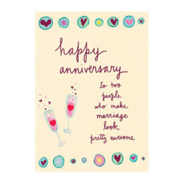 Papyrus Anniversary Card Awesome Marriage
