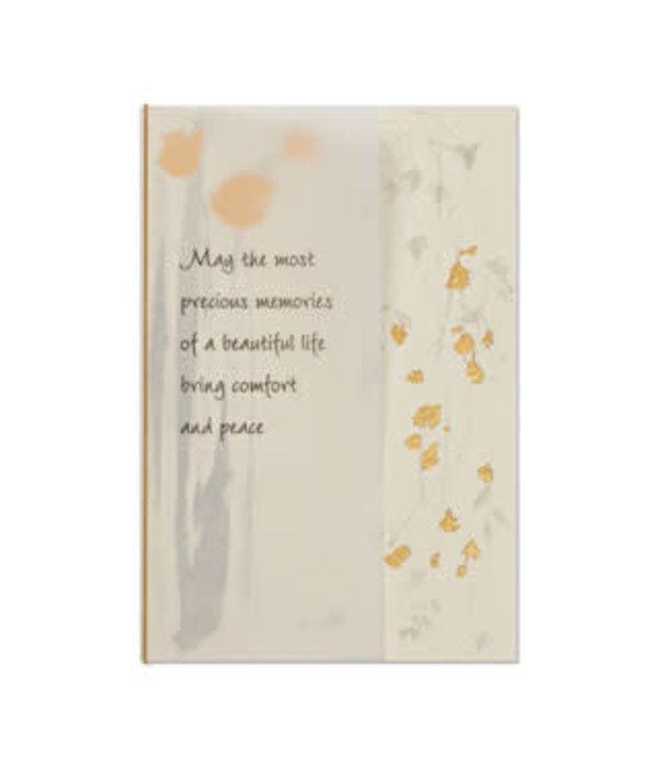 Papyrus Papyrus Sympathy Card Cascading Flowers