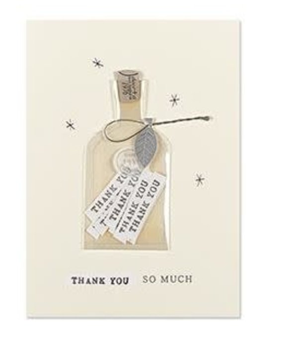 Papyrus Papyrus Thank You Card Bottle Of Thanks