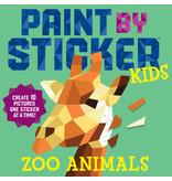 Workman Books Paint by sticker KIDS zoo animals