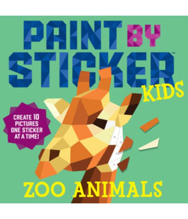 Paint by sticker KIDS zoo animals