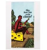 Blue Q Tried Cheese Dish Towel
