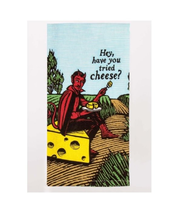Blue Q Tried Cheese Dish Towel