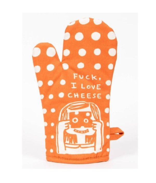 Blue Q F*ck, I Love Cheese Oven Mitt