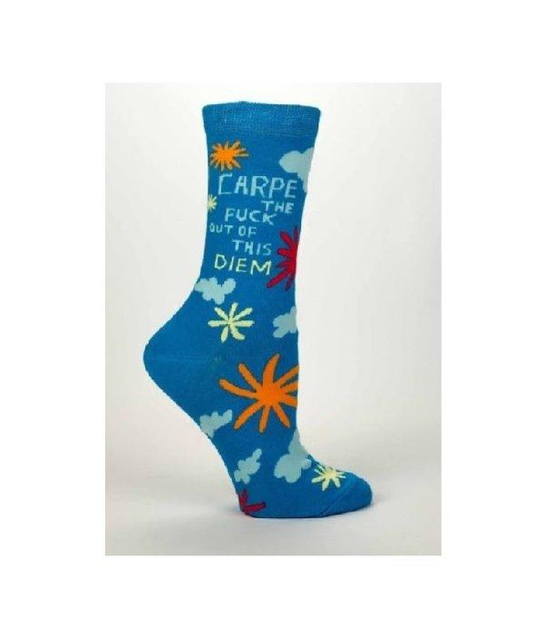 Blue Q Carpe Diem Women's Socks