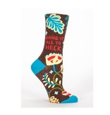 Blue Q Dang It All To Heck Women's Socks