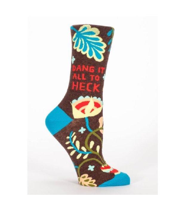 Blue Q Dang It All To Heck Women's Socks