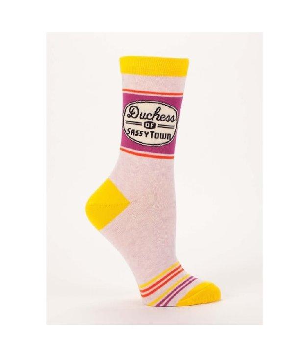 Blue Q Duchess of Sassytown Women's Socks