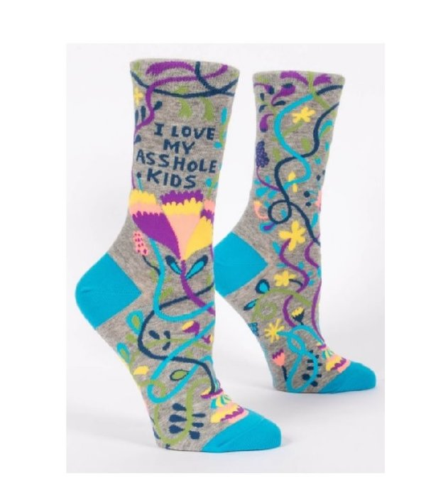 Blue Q Love My Asshole Kids Women's Socks