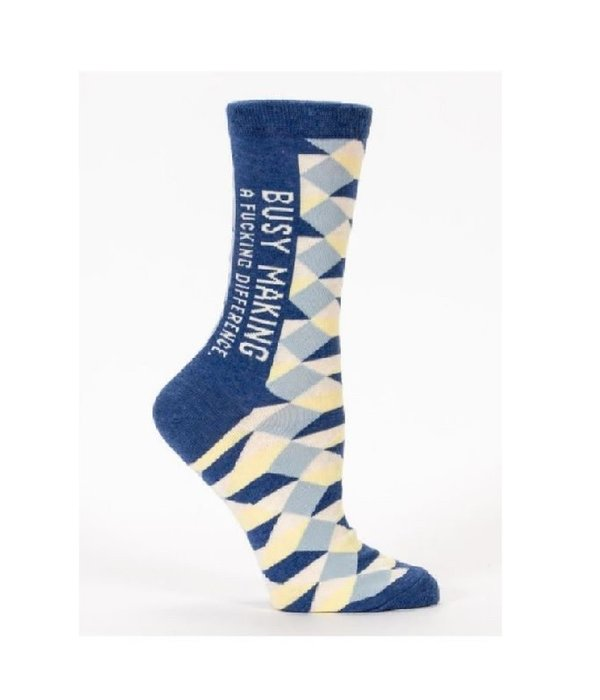 Blue Q Making a F*cking Difference Women's Socks