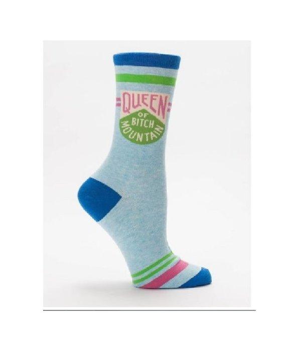 Blue Q Blue Q Queen of Bitch Mountain Womens Socks