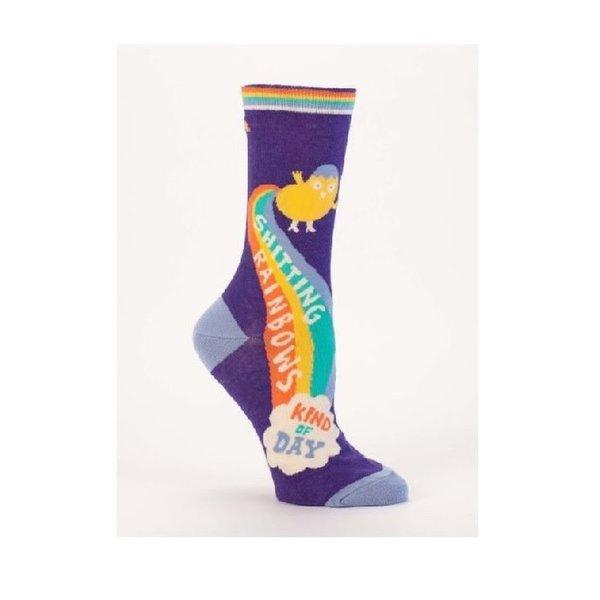 Shitting Rainbows Women's Socks