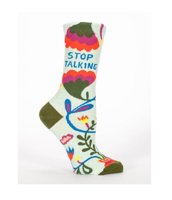 Blue Q Stop Talking Women's Socks